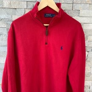 Ralph Lauren half-zip pullover sweater